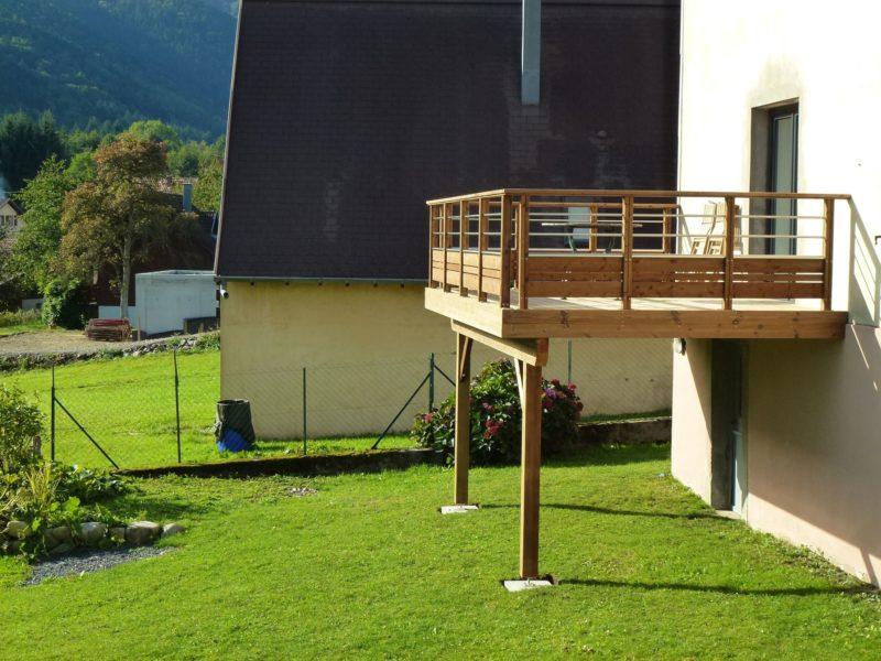 construire une terrasse surélevée