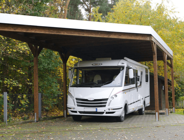 Installer un carport pour camping-car